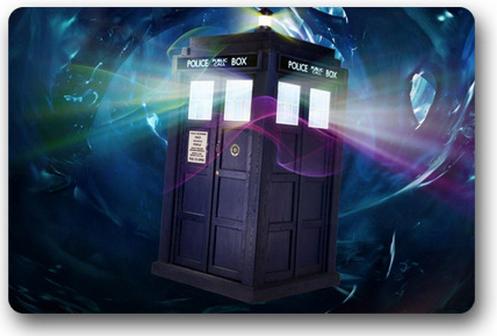Free Shipping Custom Film Doctor Who Door Mat Art Design