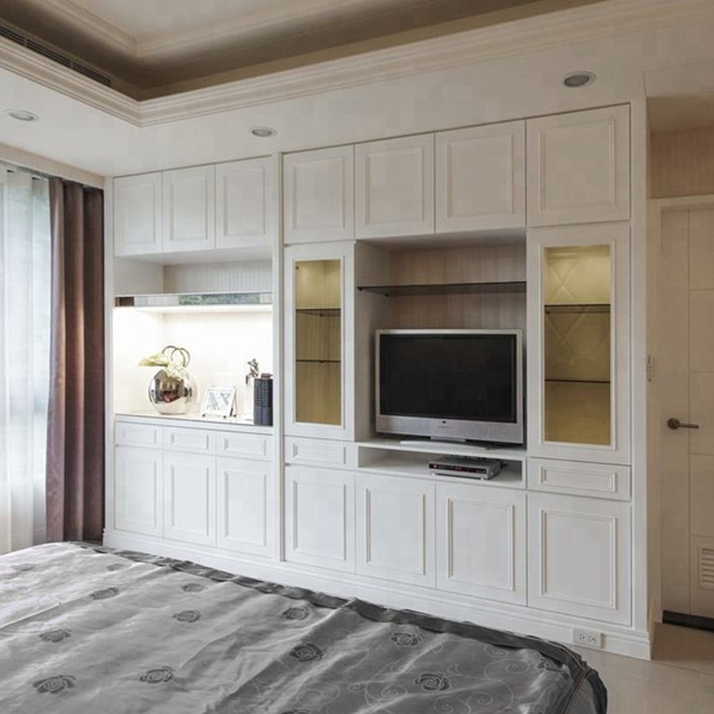 Trlife Built In Wardrobe With Tv Cabinet Mdf Furniture Wardrobe Custom Walk In Closet Armoire Direct From China Furniture Buy White Wardrobe Wooden Tv Cabinet Simple Wardrobe Designs Product On Alibaba Com