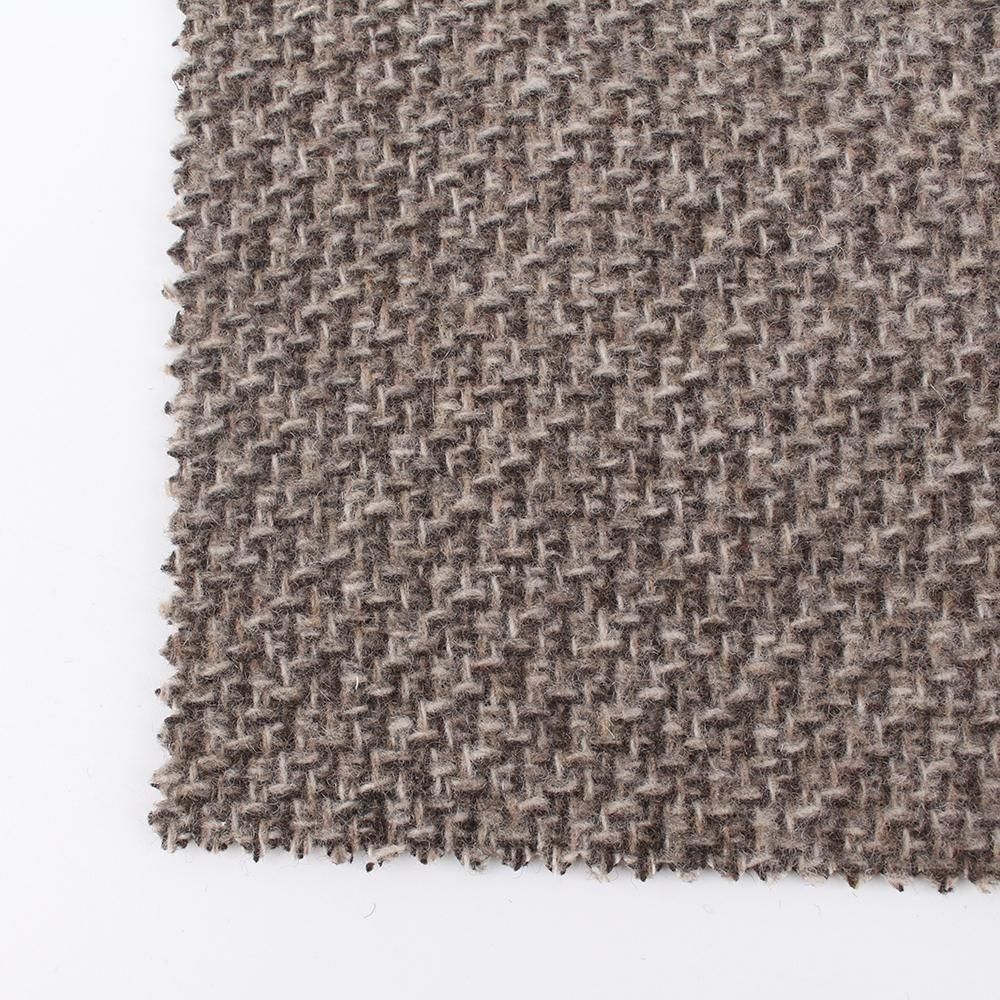 Индивидуальное плетеное шерстяное кашемировое полотно саржевое шерстяное пальто