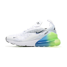 Nike Air Max 270 (gs) дети будут Официальные Детские кроссовки для бега на открытом воздухе удобные спортивные кроссовки # AQ9164(Китай)
