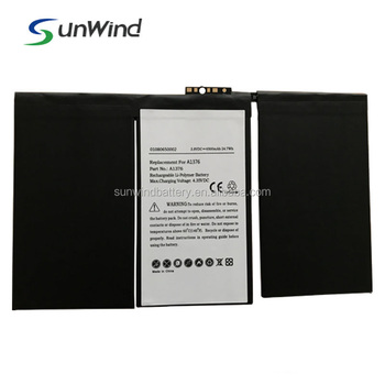 Li-ion battery for tablet pc, China laptop battery manufacturer replacement battery pack for ipad 2 A1376