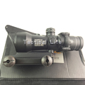 2016 Hunting Optical Sight With 4 x32 Normally On Small Optical Fiber Mirror Green Light Riflescope