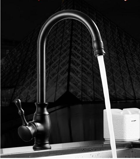 High Quality Kitchen Faucet Antique Brass