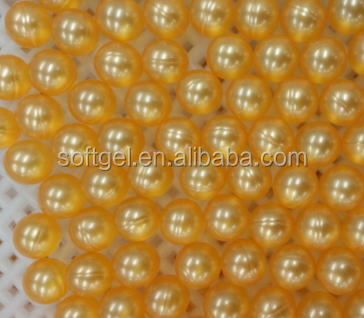 Round shape bath oil beads