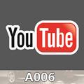 A 006 Video Web Waterproof Fashion Cool DIY Stickers For Laptop Luggage Fridge Skateboard Phone Car