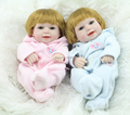 TOP QUALITY New silicone reborn baby dolls 28cm boy reborn baby doll 1pcs