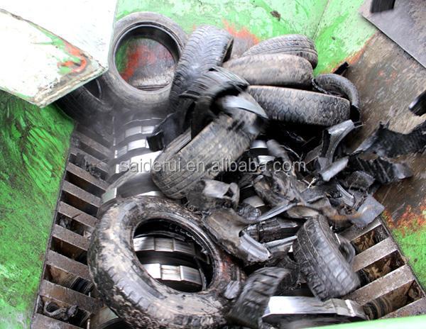 Robust shredders/powerful twin shaft shear shredder/heavy duty shredder for sale