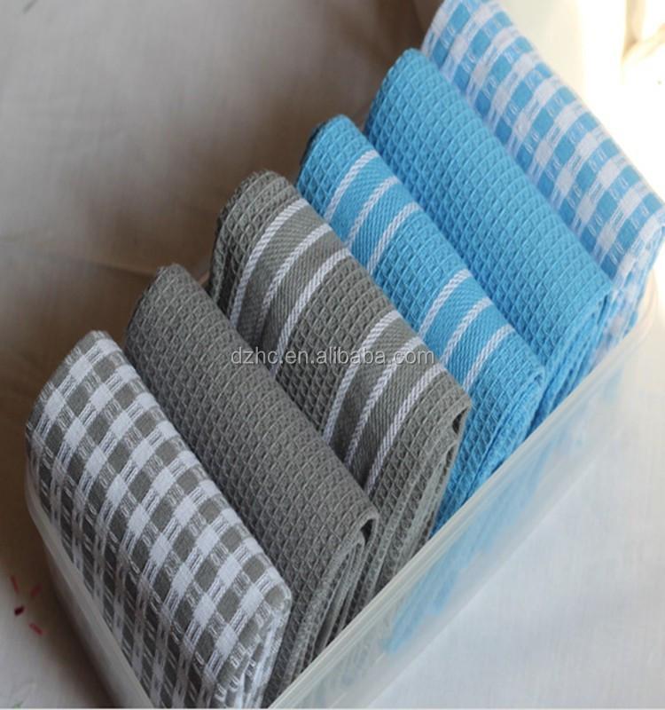 2020 Новое вафельное Тканое хлопковое Сублимационное чистое моющее полотенце