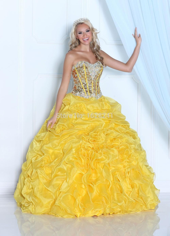 5e5906f3829 Cheap Yellow Quinceanera Dresses - Gomes Weine AG