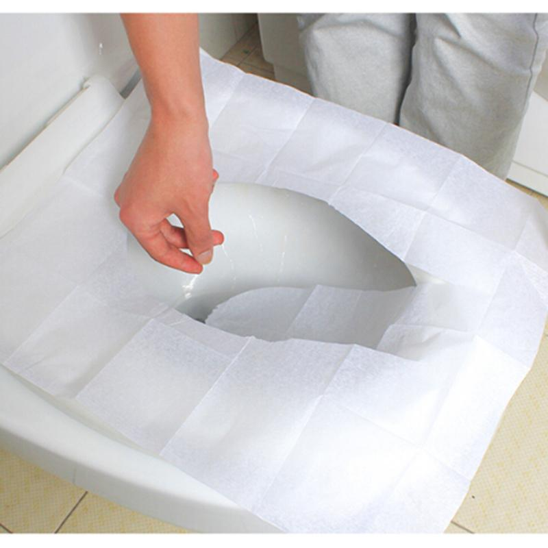 Disposable toilet seat covers Camping Festival public Loo Toilettes