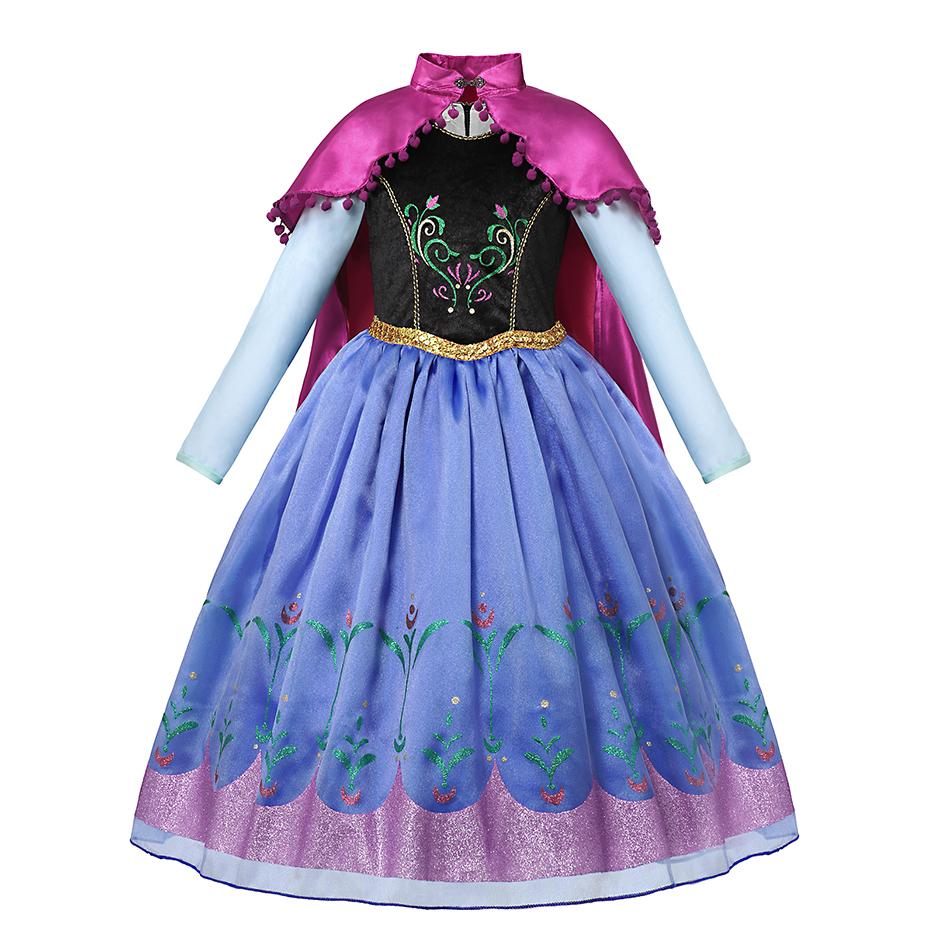 kiz elbise prenses anna elsa cadilar bayrami kostumleri elbise bebek kiz fantezi parti elbise buy prenses anna elbise kiz elbise kiz cadilar bayrami