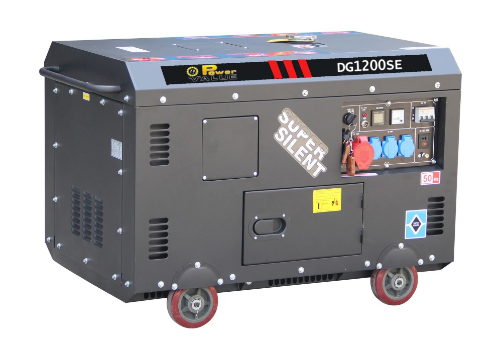 Electric Generator Power Small Fuel Less 10kw 10kva Diesel