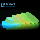 Bulk Rubber Bracelet Wholesale No Minimum Bulk Cheap Custom Logo Printing Luminous Rubber Bracelet Silicone Glow Wristband