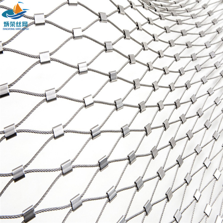 Stainless Steel Ferrule Cable Netting