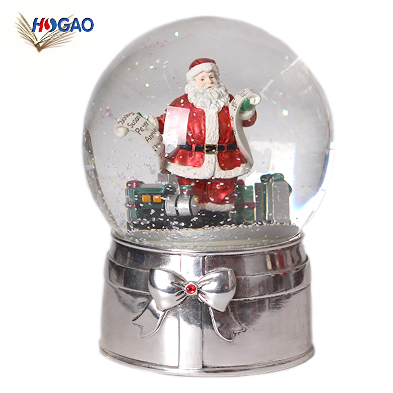 Glass Water Ball Custom Snow Globe Christmas Water Snow Globe For Souvenir Buy Christmas Snow Globe Crystal Snow Globe Water Ball Custom Snow Globe Product On Alibaba Com