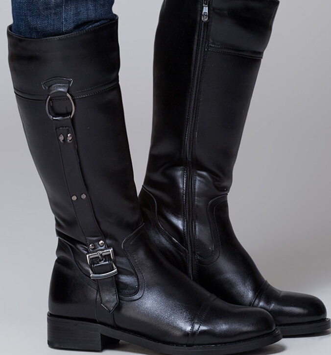 Mens Knee High Boots Leather Division Of Global Affairs