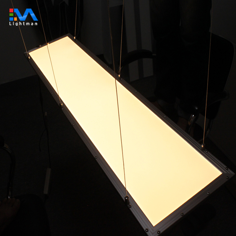 Double sided up and down 36w 300x1200 1200x300 lamp led flat lighting120x30 30x120 emitting led panel light