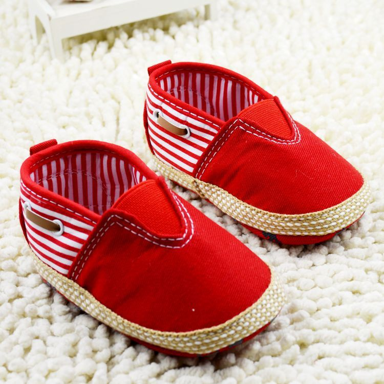 Retail bule and red New Baby Shoes Baby Sneakers Newborn Boys Girls Shoes Kids Sports Shoes