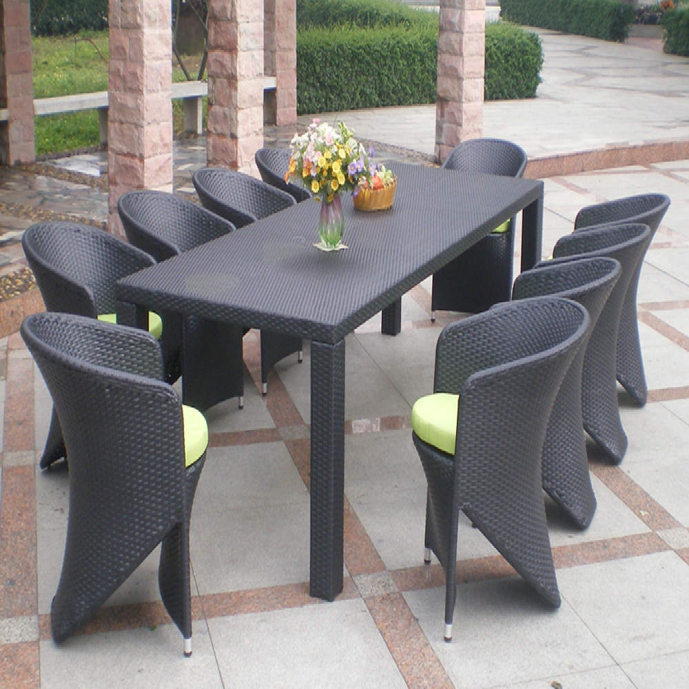 Georgia Restaurant 10 Seater French Outdoor Home Furniture Wicker Dining Tables And Chairs Garden Plastic Rattan Furniture Buy Dining Tables And Chairs Garden Plastic Rattan Furniture Outdoor Dining Tables And Chairs Garden Plastic