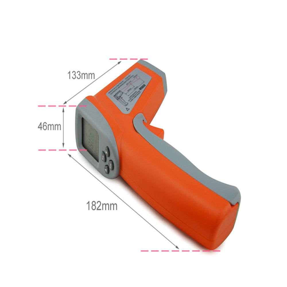 Digital Non-Contact LCD IR Laser Infrared Temperature Thermometer Gun Pyrometer*
