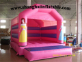 HOT inflatable trampoline for kids jumping trampoline air trampoline kids trampoline inflatable pink princess bounce house