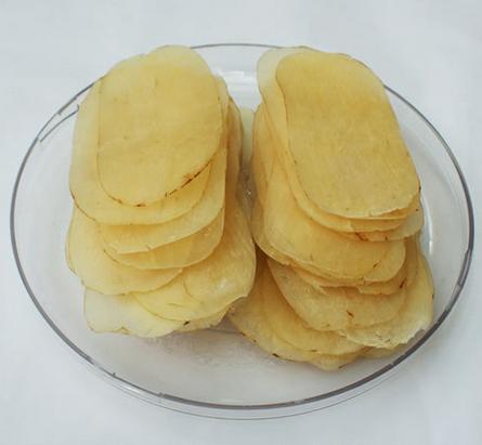 Chinese Herbal Slicese Gastrodia elata Tianma Slices improves mental headache pain eat - 4uTea | 4uTea.com