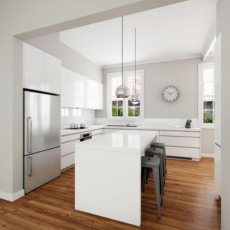 U Shaped Kitchen Cabinet Layout Ideas Buy Product On Alibaba Com