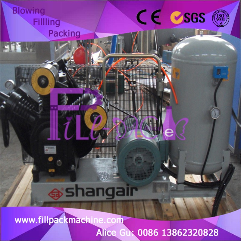 Shang Air brand LP air compressor for injection blowing machine