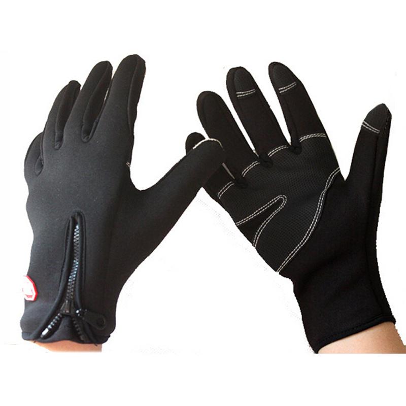 2016 Winter Mountian Bike Windproof Gloves Touch Screen