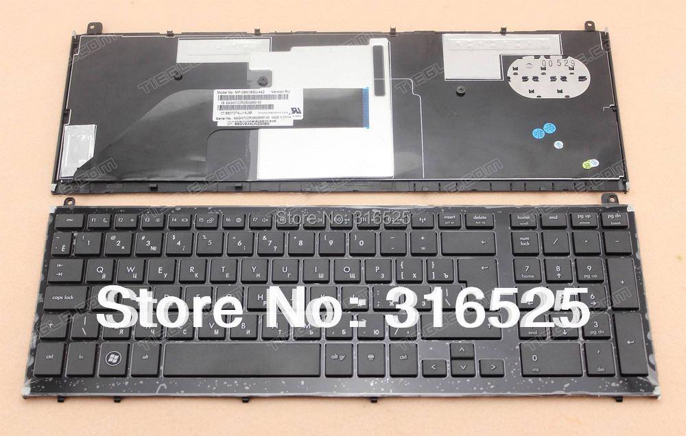 Новый Ru русской раскладки для HP probook 4520 4520 S 4525 S 4525 с черной рамкой клавиатура