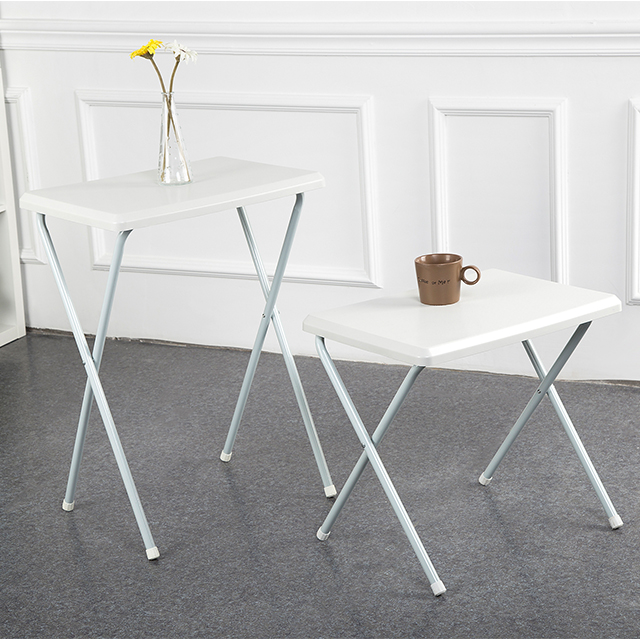 Middle Size Lightweight Bedroom Portable Folding Table