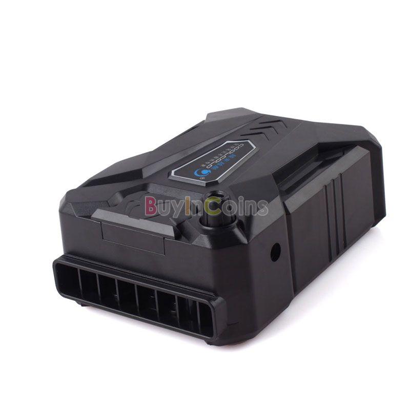 Coolcold ICEMAGIC USB вентиляции радиатора портативный ноутбук Exhaustfan # 56300