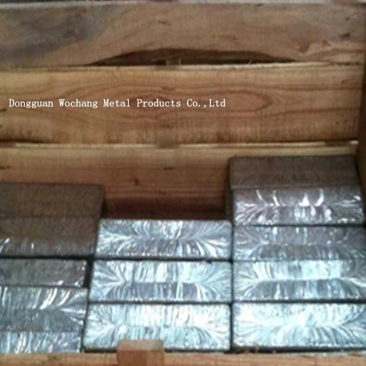 High quality 99.995% pure cadmium metal price 4N5 cadmium ingot for sale