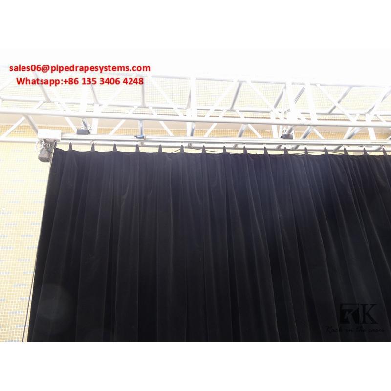 Remote Control Room Divider Curtain