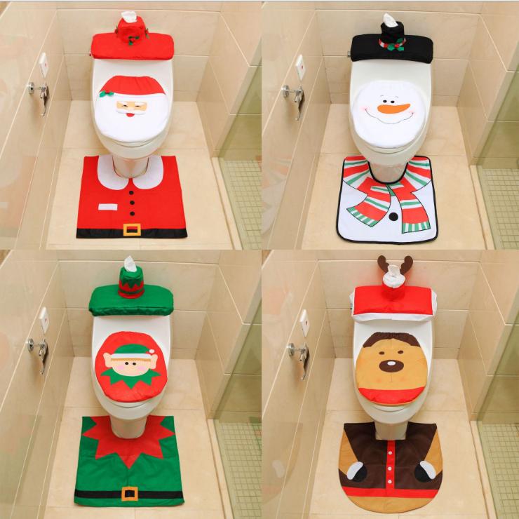 Christmas Toilet Seat Cover Santa Claus Christmas Snowman Bathroom Toilet Seat Cover Set Buy Santa Toilet Seat Cover Set Christmas Bathroom Toilet Seat Cover Toilet Seat Cover Set Product On Alibaba Com