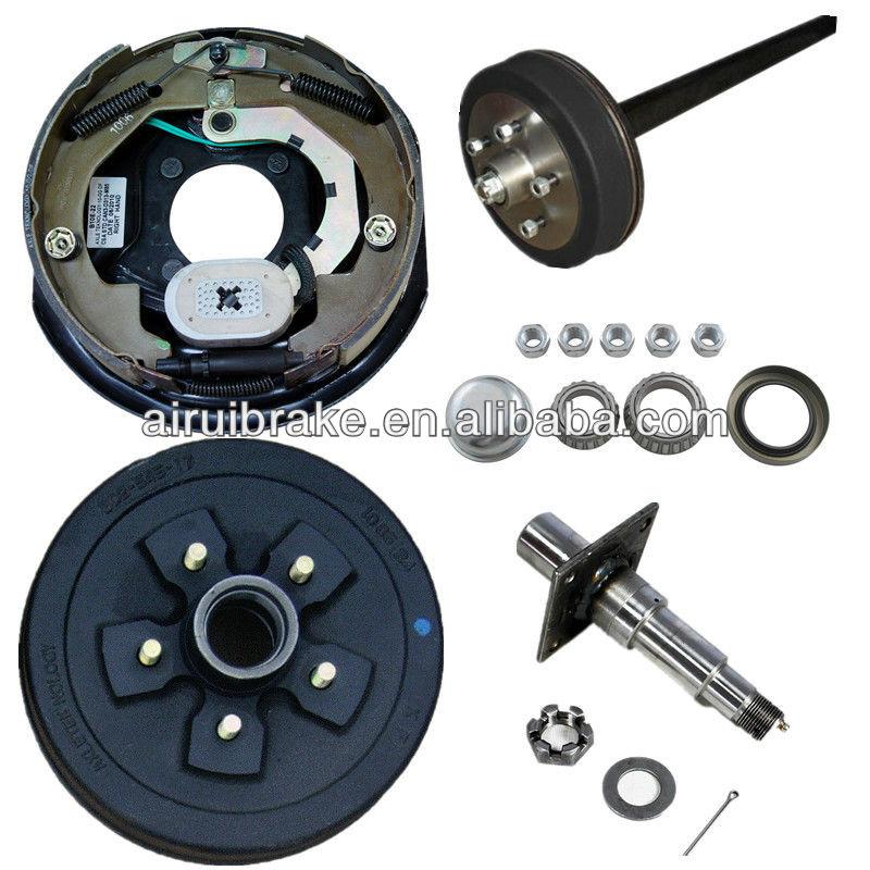 Electric Brake plate & hub drum ATV trailer parts