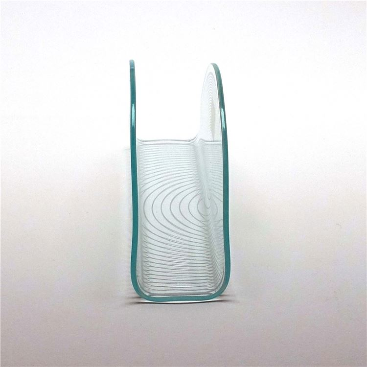Tempered Hot Bent Glass Coffee Table / Simple Style Glass Table