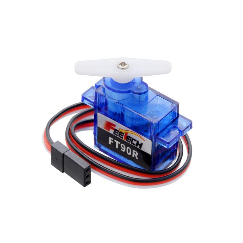 Цифровое микро-устройство непрерывного вращения FEETECH FT90R, сервоколесо, автономный робот-дизайн