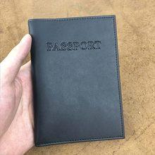Мужская Обложка для паспорта в русском и американском стиле, Универсальная обложка для загранпаспорта, чехол для паспорта, Прямая поставка(Китай)
