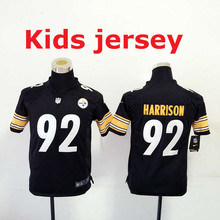 7e9031c99a7 Kids youth Free fast shipping Best Quality Pittsburgh s 32 Franco Harris 83  Heath Miller 84 Antonio brown Jersey
