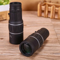 High Quality Mini 16x52 Dual for Focus Optic Lens Day Night Vision Armoring Travel Monocular Telescope