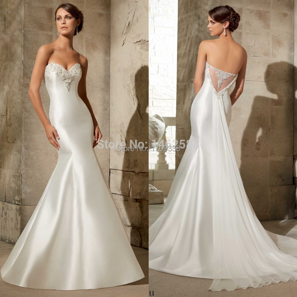 Crystal Bodice Wedding Gown: Rhinestone Appliques Sweetheart Off The Shoulder Bodice