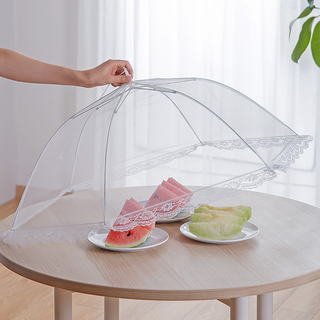 SHIMOYAMA Folding Pop Up Mesh Food Table Cover