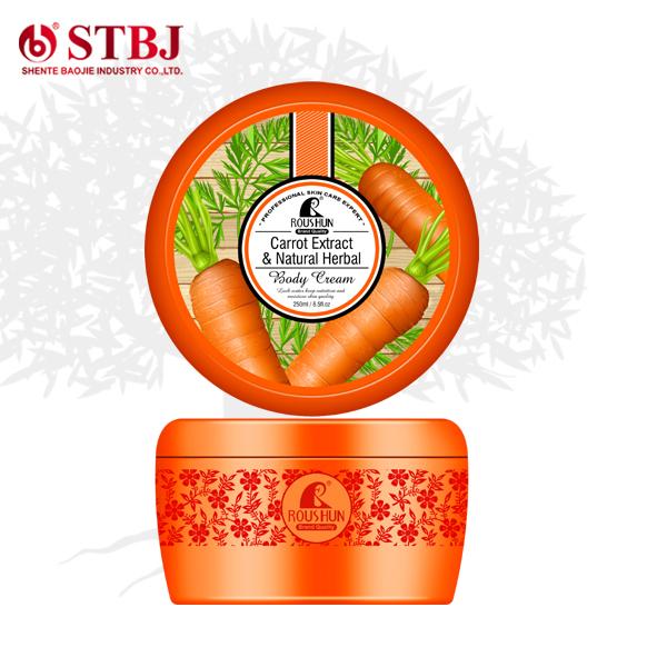 carrot herb face cream