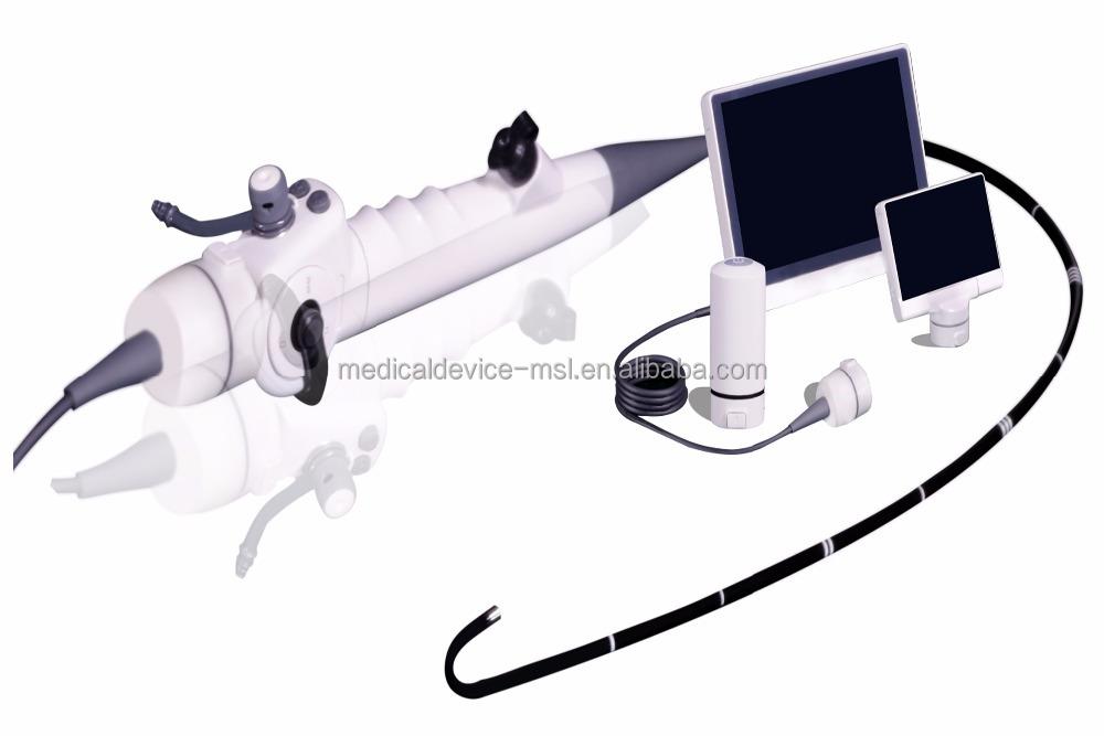 ENT видео Ларингоскоп медицинское хирургическое устройство волоконно-оптическая Бронхоскопия MSLLF02