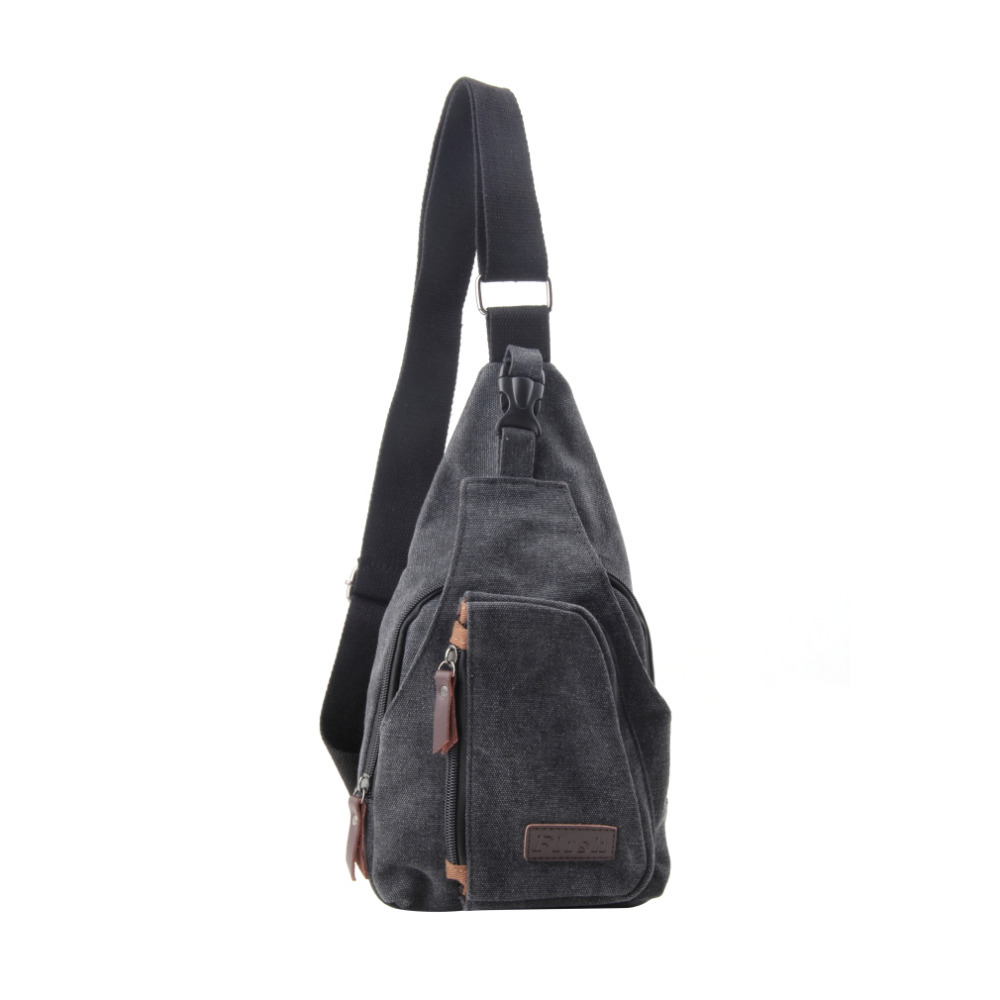 Мода старинные мужчины сумки посыльного свободного покроя на открытом воздухе путешествие пешие прогулки и свободного покроя грудь холст мужской маленький ретро сумка