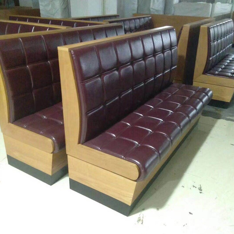 sofa for restaurant cafe hotel bar use otpional color +size + design price for meter is from 100$ moq is 1 set