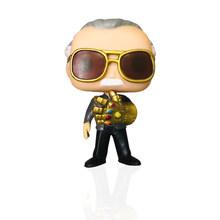 FUNKO POP MARVEL Avengers: эндшпиль Стэн ли с Infinity Gauntlet & QUAKE, фигурка, игрушки для детей, рождественский подарок(Китай)