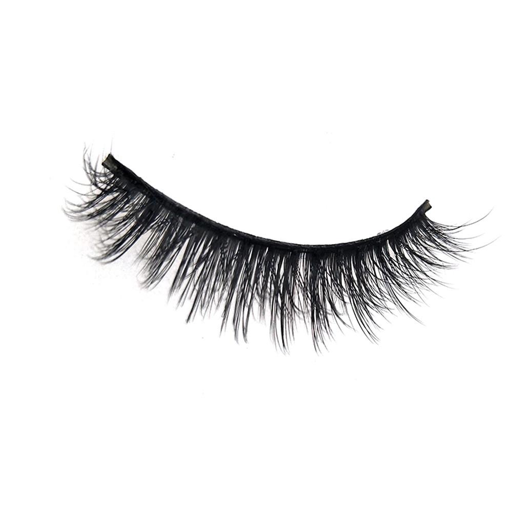 5Pair Luxury Lashes 3D Mink Eyelashes Handmade Reusable Natural Curling Thick Eyelashes Popular False Lashes Makeup L58 - AliExpress - 웹