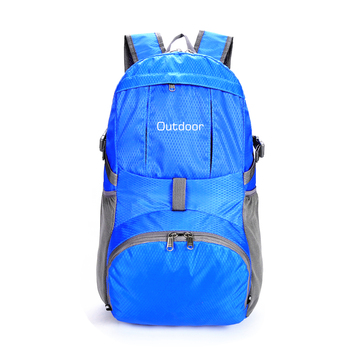 Outdoor Travel 35L Sport Water Resistant Foldable Ultra Lightweight Packable Hiking Backpack